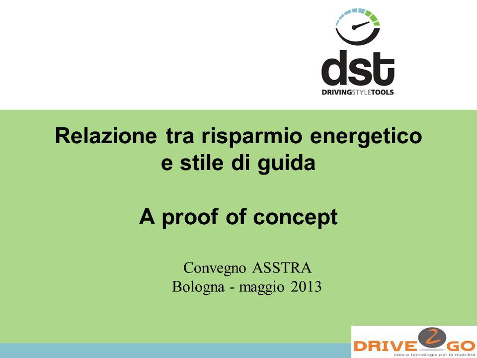 Relazione tra risparmio energetico e stile di guida A proof of concept