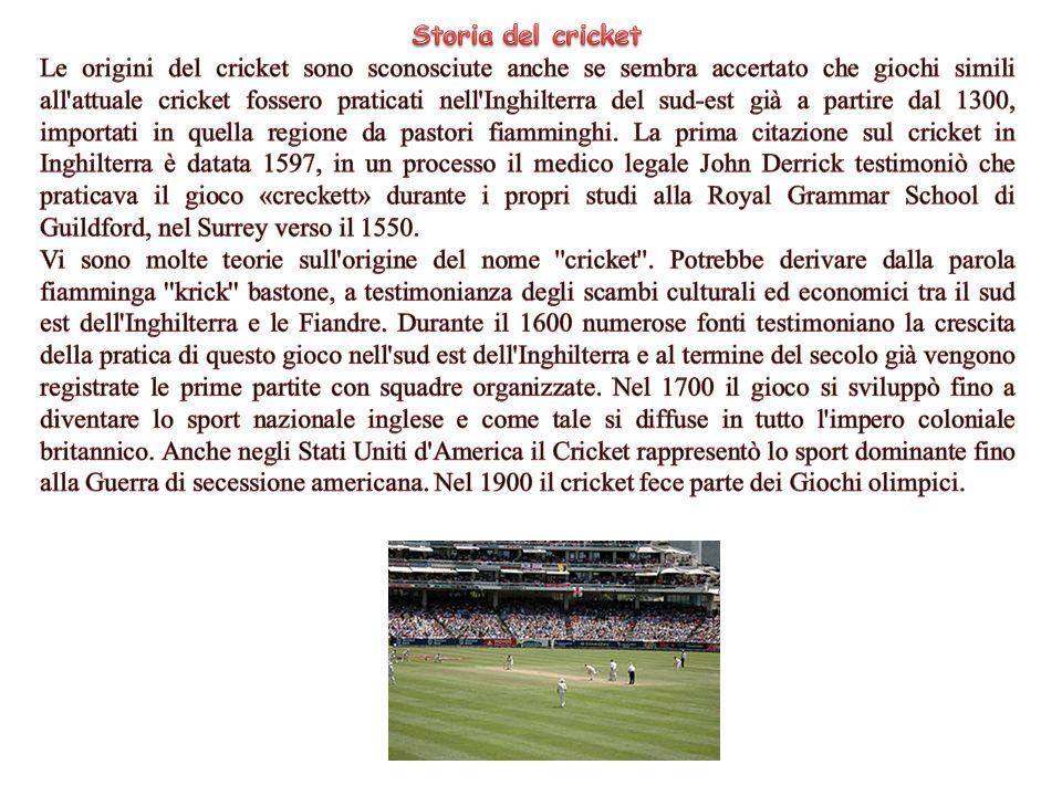 Storia del cricket