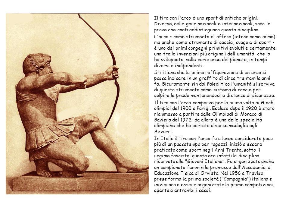 Il tiro con l arco è uno sport di antiche origini