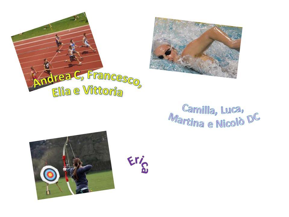 Andrea C, Francesco, Elia e Vittoria Erica