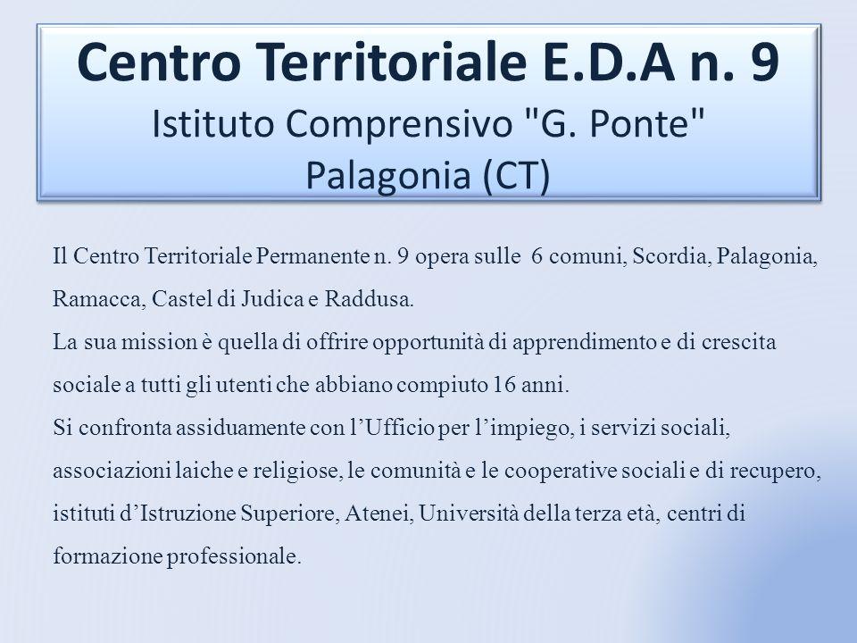 Centro Territoriale E. D. A n. 9 Istituto Comprensivo G