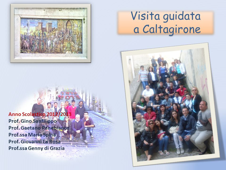Visita guidata a Caltagirone