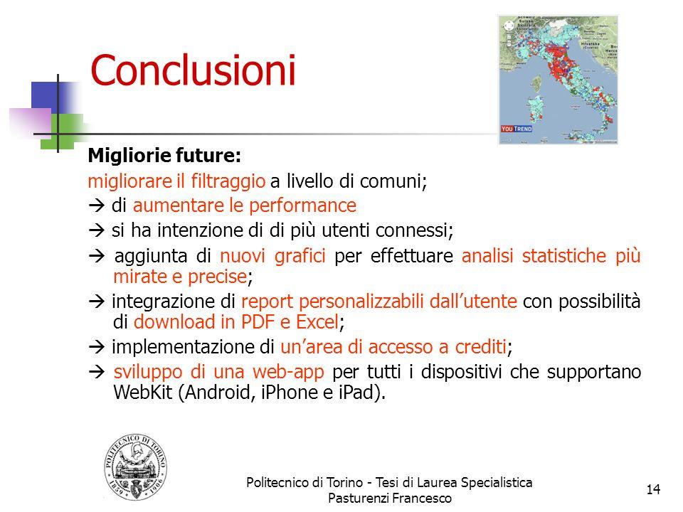 Politecnico di Torino - Tesi di Laurea Specialistica