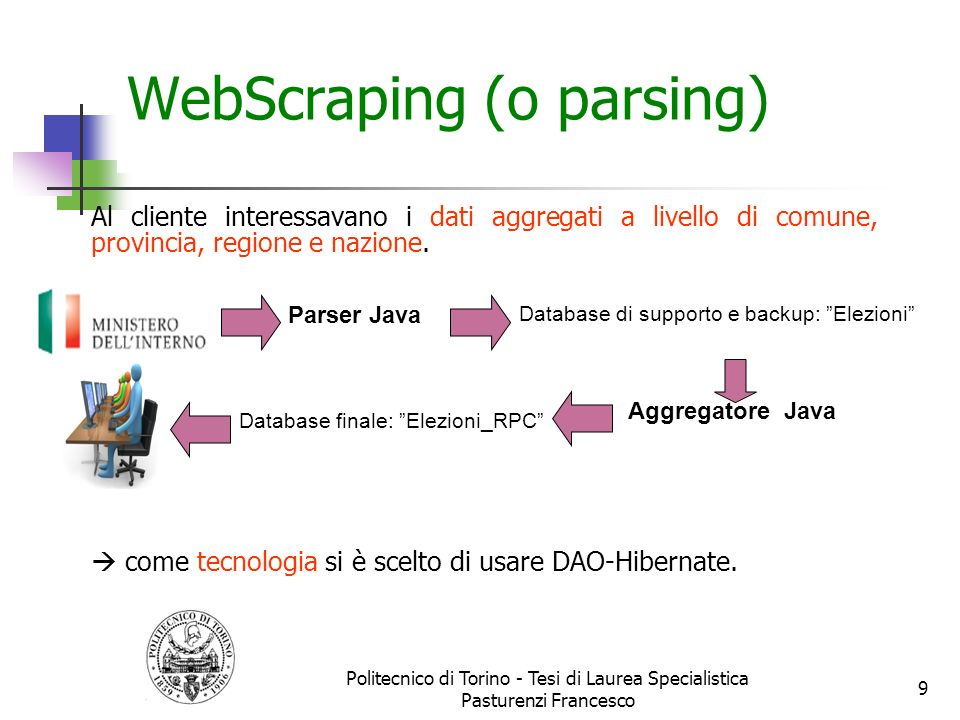 WebScraping (o parsing)