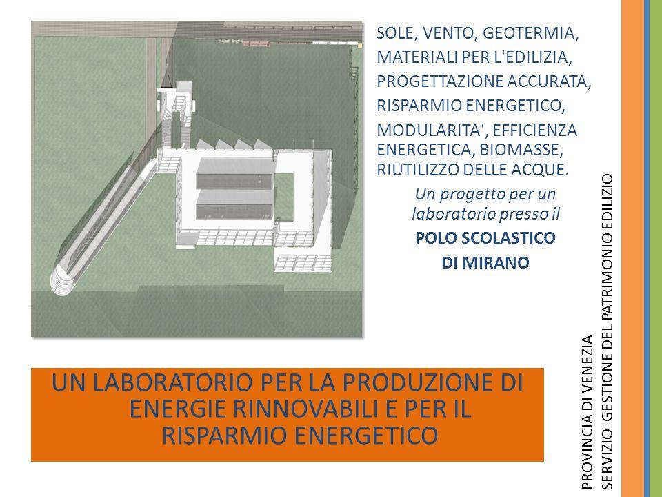 Un progetto per un laboratorio presso il