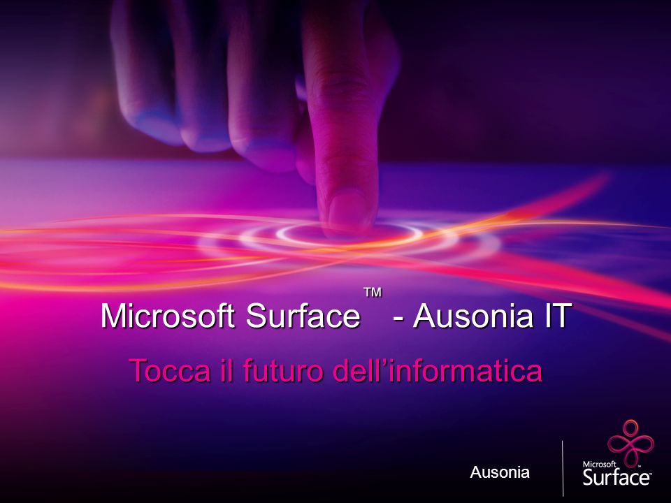 Microsoft Surface™ - Ausonia IT