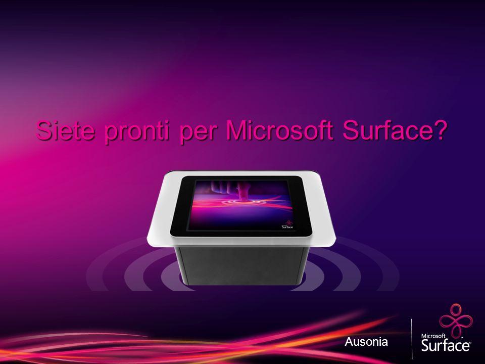 Siete pronti per Microsoft Surface