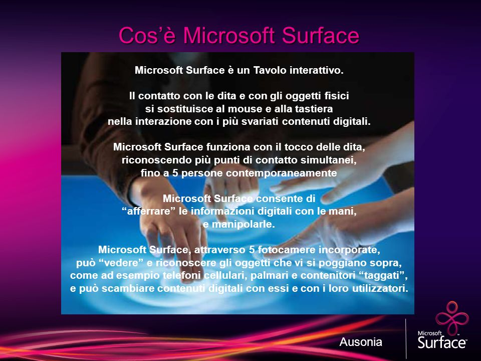Cos'è Microsoft Surface