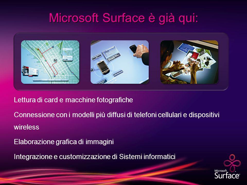 Microsoft Surface è già qui: