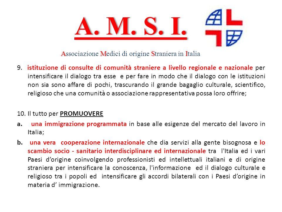 Associazione Medici di origine Straniera in Italia