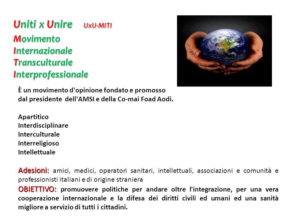 Uniti x Unire UxU-MITI Movimento Internazionale