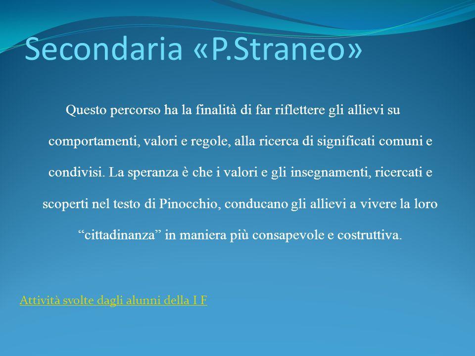 Secondaria «P.Straneo»
