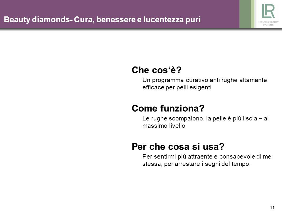 Beauty diamonds- Cura, benessere e lucentezza puri