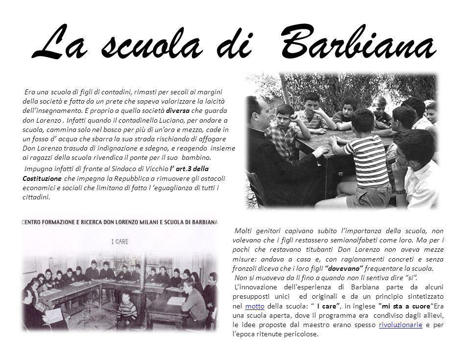 La scuola di Barbiana
