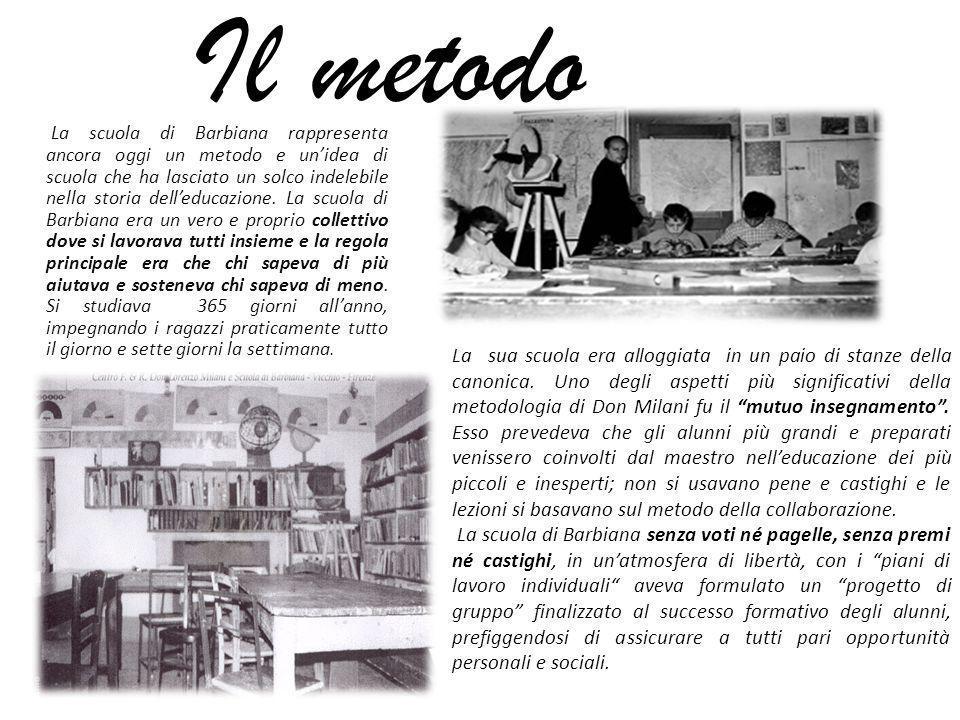 La costituzione nella scuola di barbiana ppt video for 2 piani di casa storia con maestro al piano principale