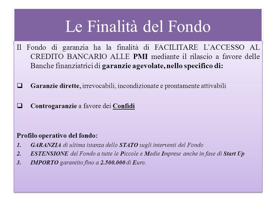 Le Finalità del Fondo