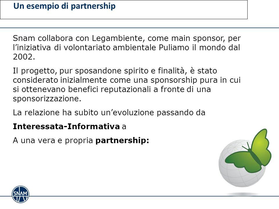 Un esempio di partnership