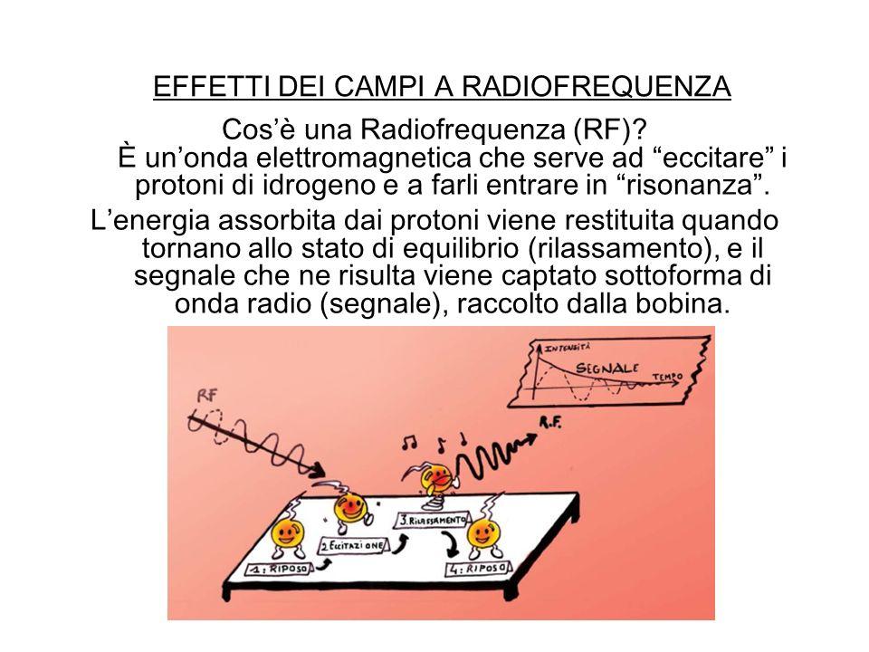 EFFETTI DEI CAMPI A RADIOFREQUENZA