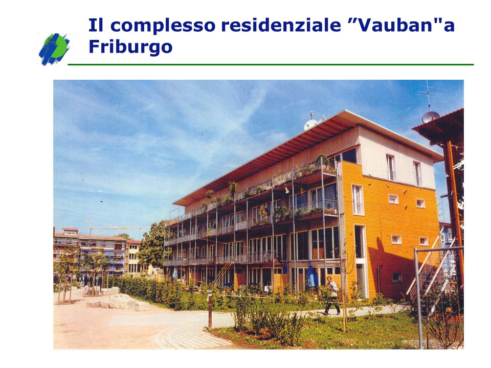 Il complesso residenziale Vauban a Friburgo