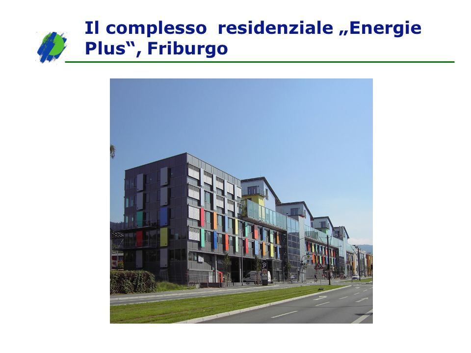 "Il complesso residenziale ""Energie Plus , Friburgo"