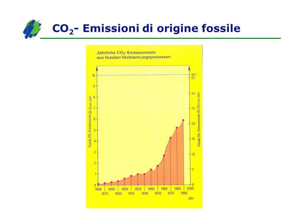 CO2- Emissioni di origine fossile