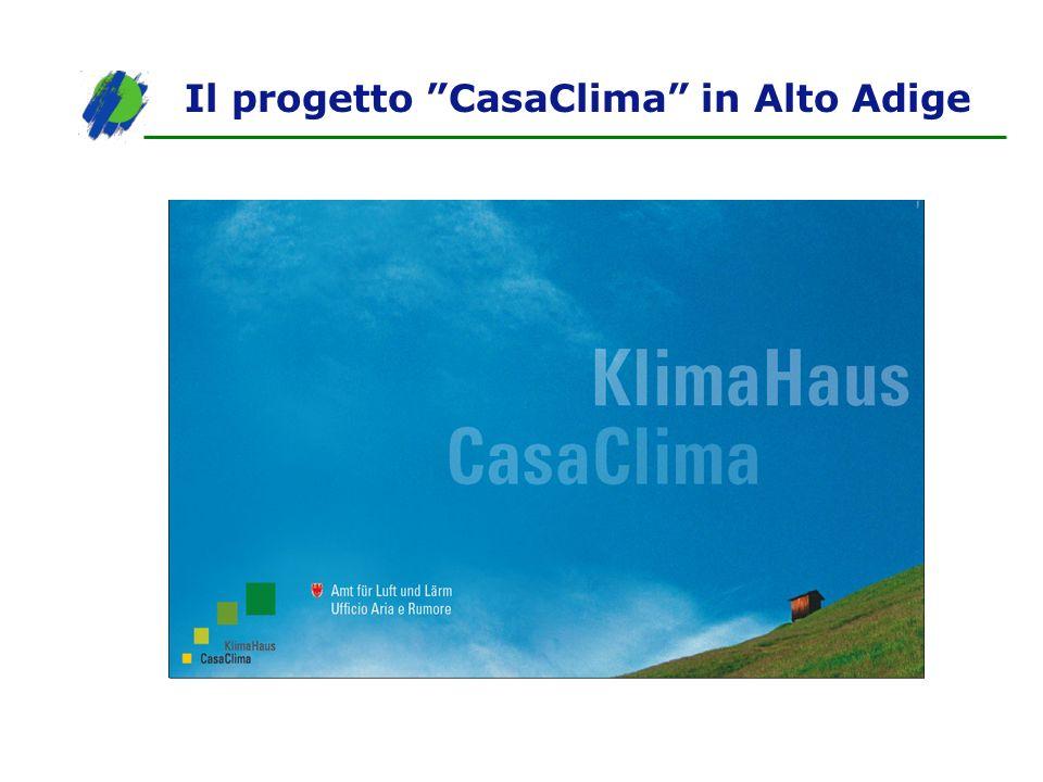 Il progetto CasaClima in Alto Adige