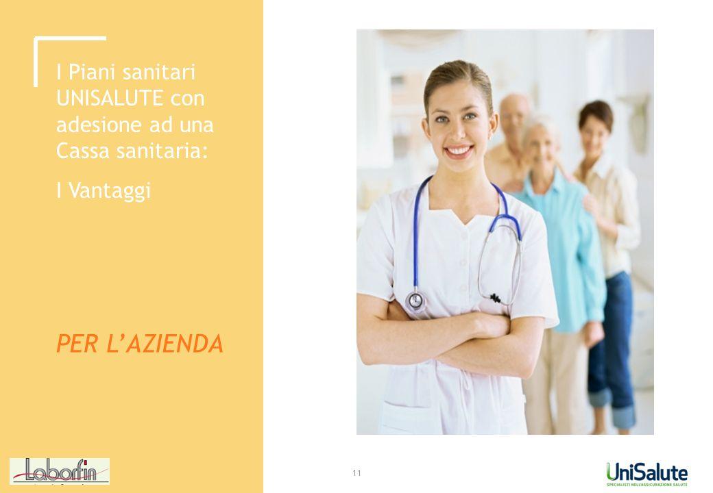 I Piani sanitari UNISALUTE con adesione ad una Cassa sanitaria:
