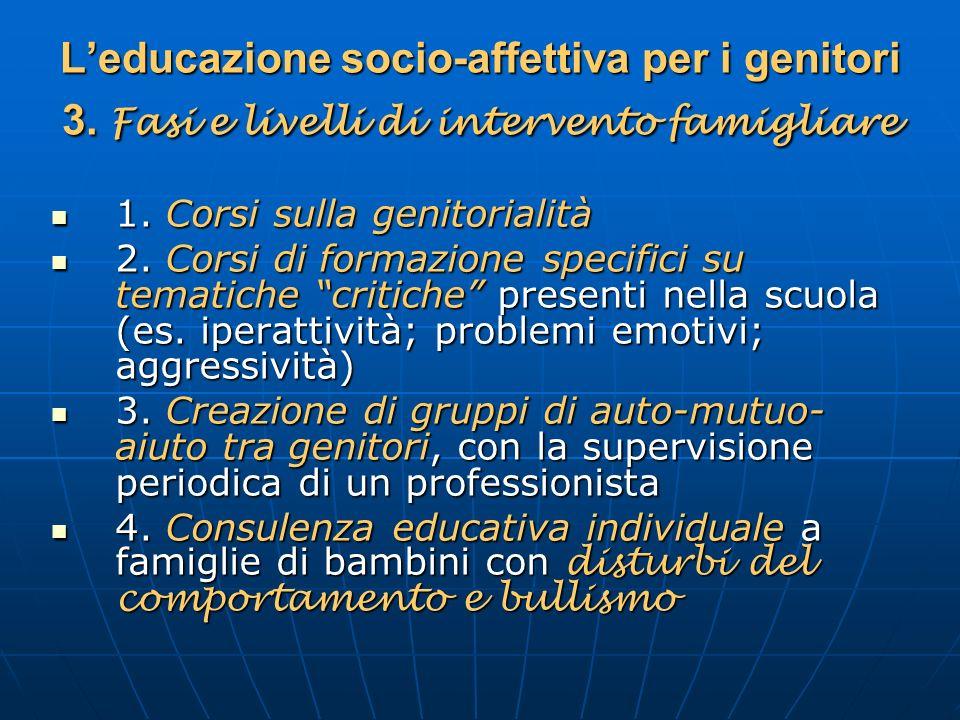 L'educazione socio-affettiva per i genitori 3
