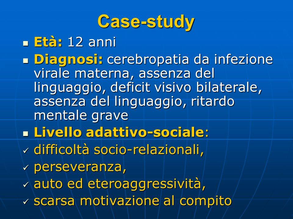 Case-study Età: 12 anni.
