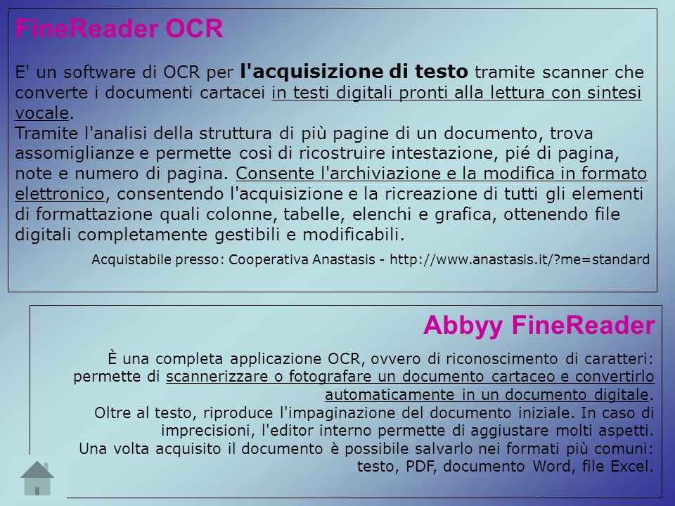FineReader OCR Abbyy FineReader