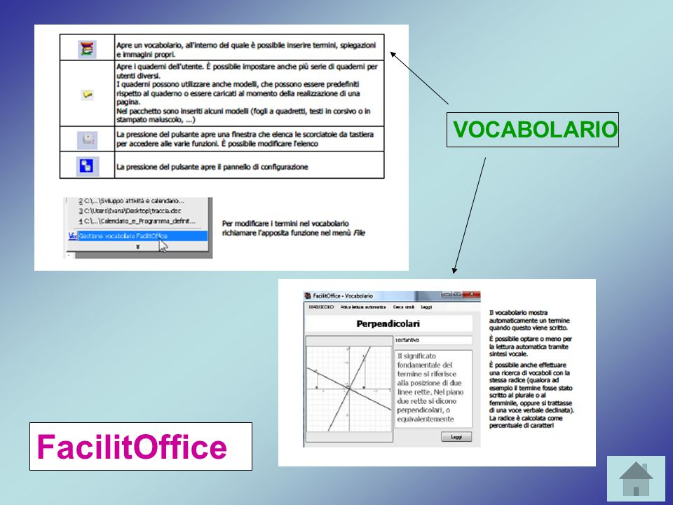 VOCABOLARIO FacilitOffice