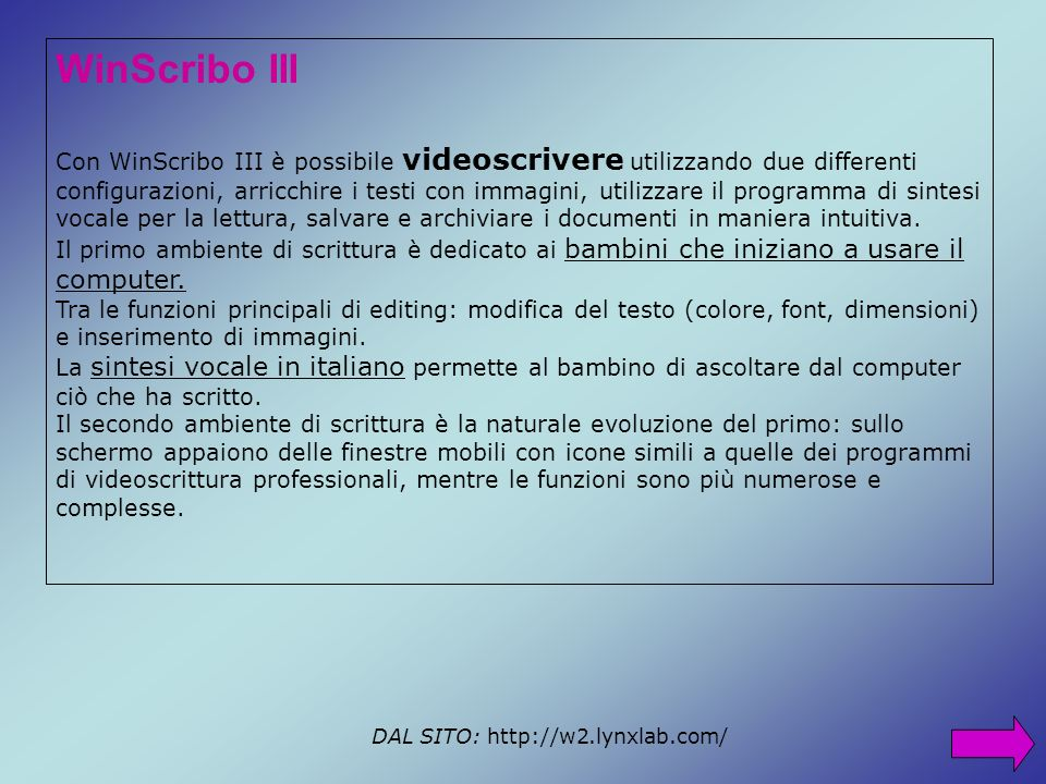 WinScribo III
