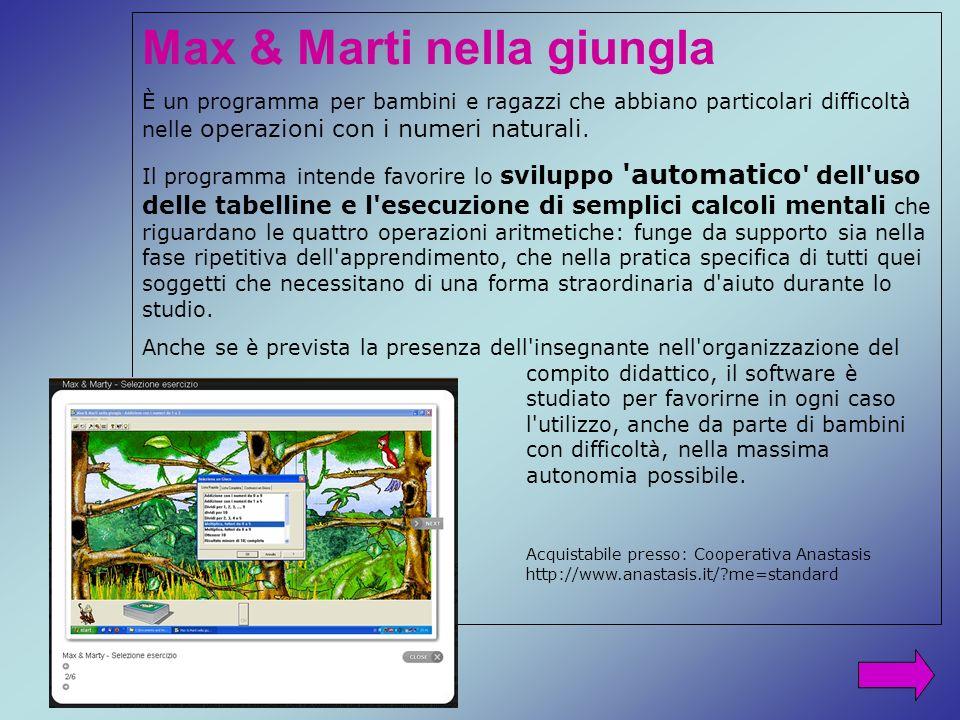 Max & Marti nella giungla