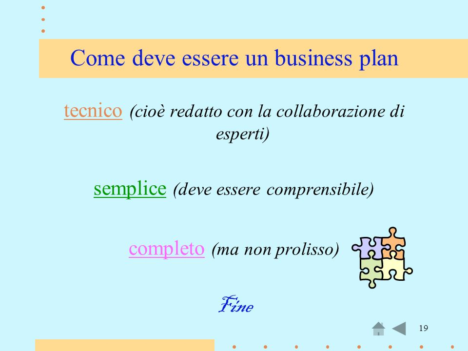 Come deve essere un business plan