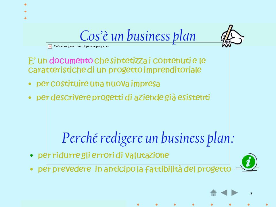 Perché redigere un business plan: