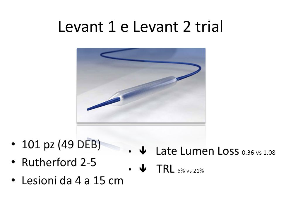 Levant 1 e Levant 2 trial 101 pz (49 DEB) Rutherford 2-5