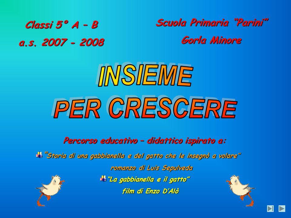 INSIEME PER CRESCERE Scuola Primaria Parini Classi 5° A – B