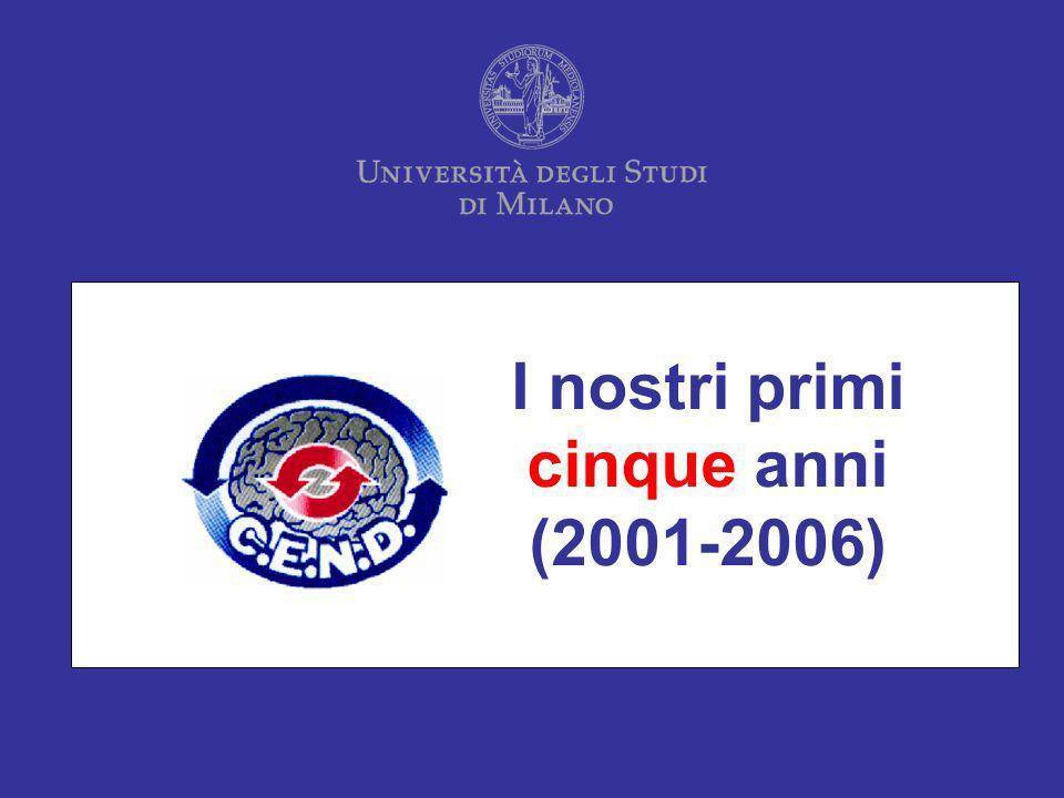 I nostri primi cinque anni (2001-2006)