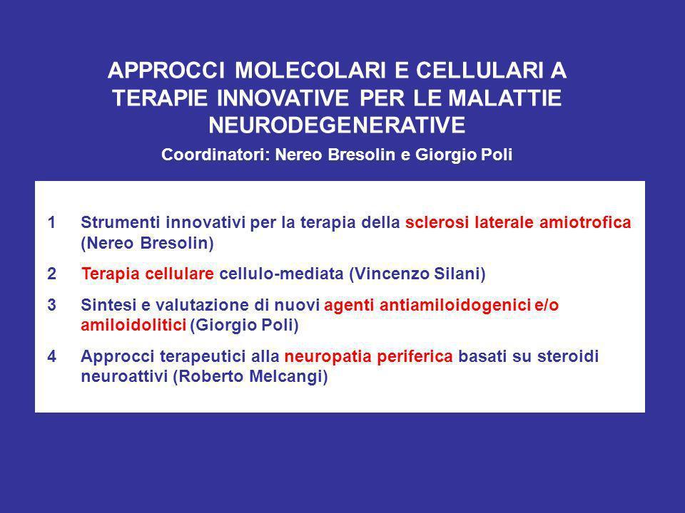 Coordinatori: Nereo Bresolin e Giorgio Poli