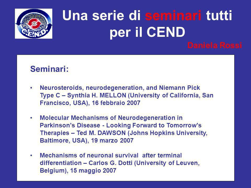 Una serie di seminari tutti per il CEND