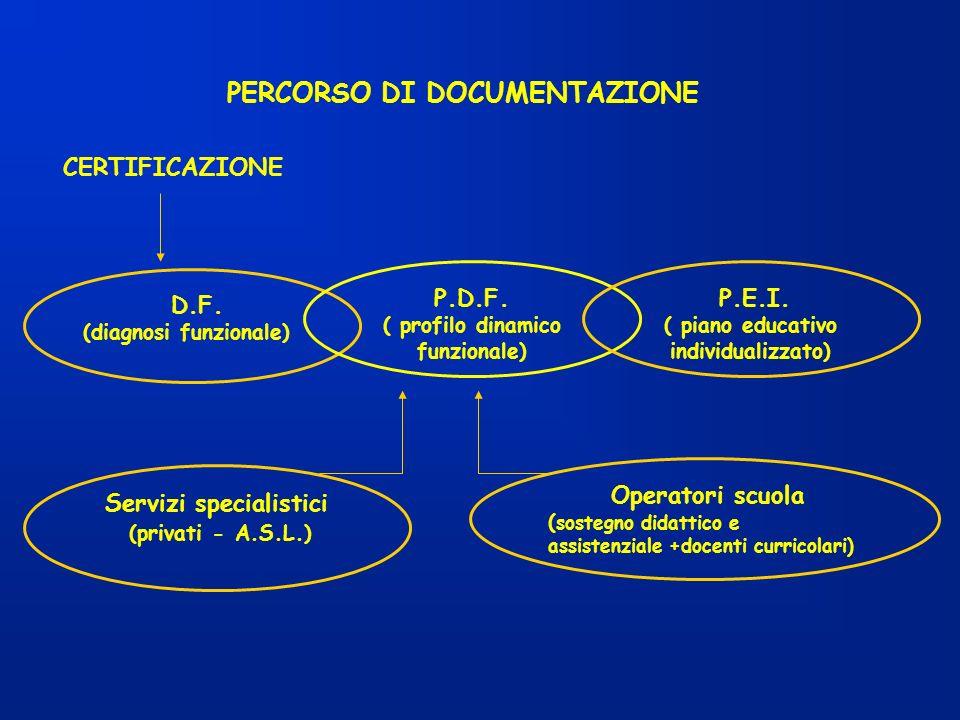 PERCORSO DI DOCUMENTAZIONE