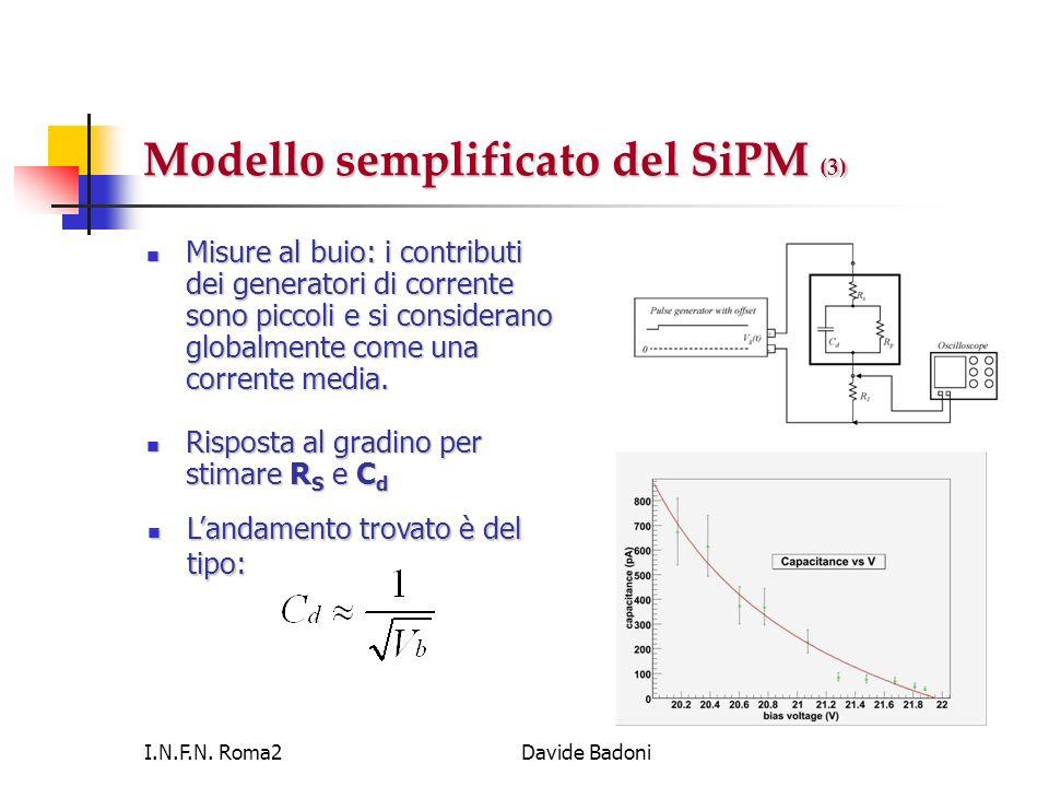 Modello semplificato del SiPM (3)