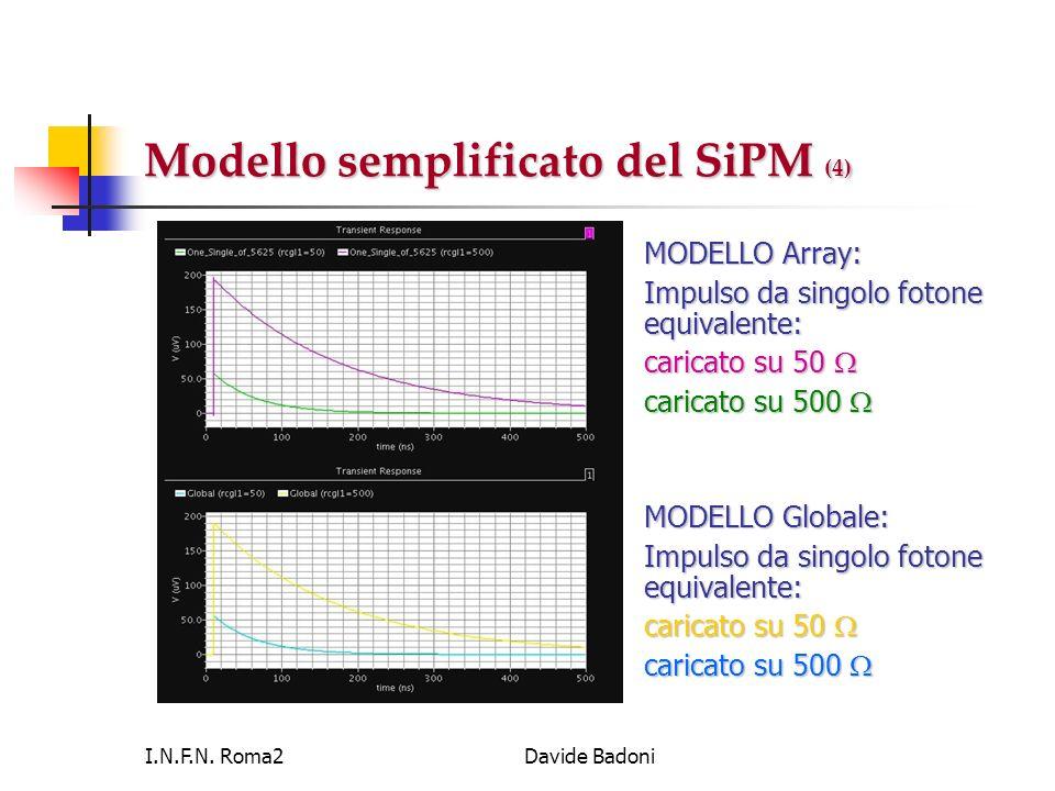 Modello semplificato del SiPM (4)