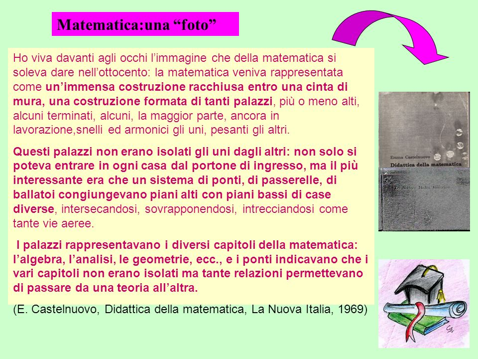 Matematica:una foto
