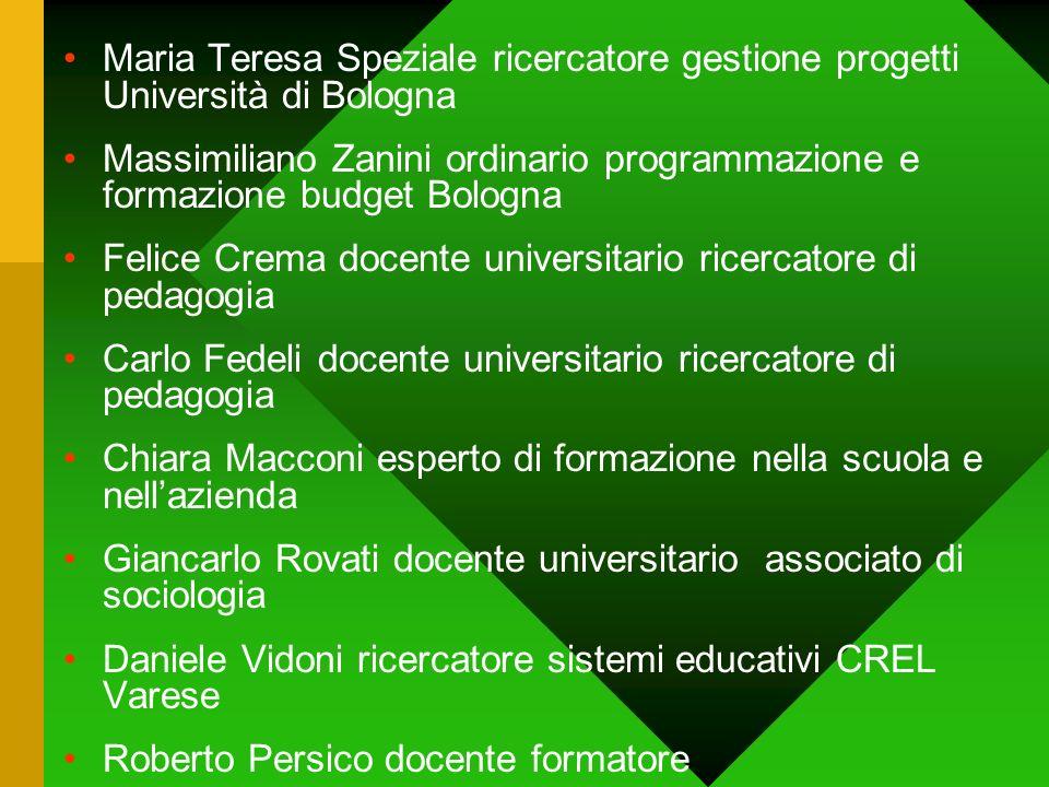 Maria Teresa Speziale ricercatore gestione progetti Università di Bologna