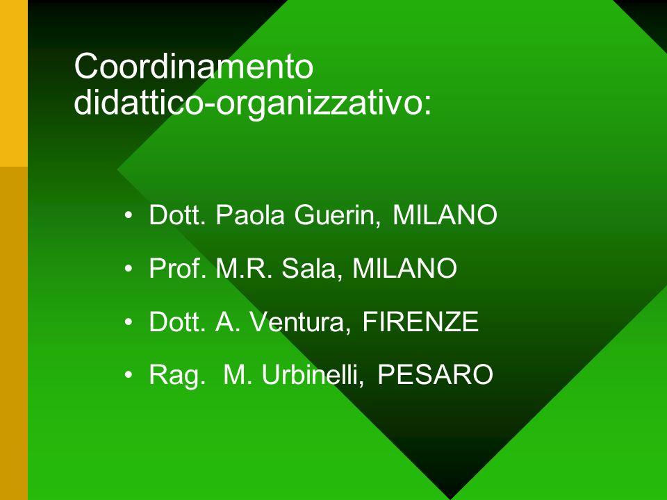 Coordinamento didattico-organizzativo: