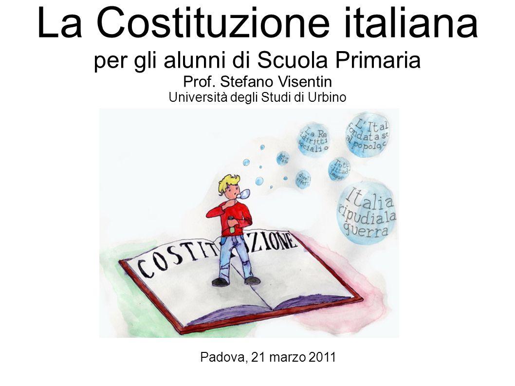La Costituzione italiana per gli alunni di Scuola Primaria
