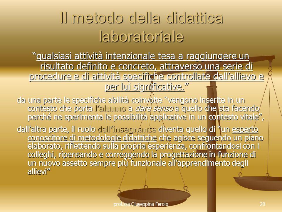 Il metodo della didattica laboratoriale