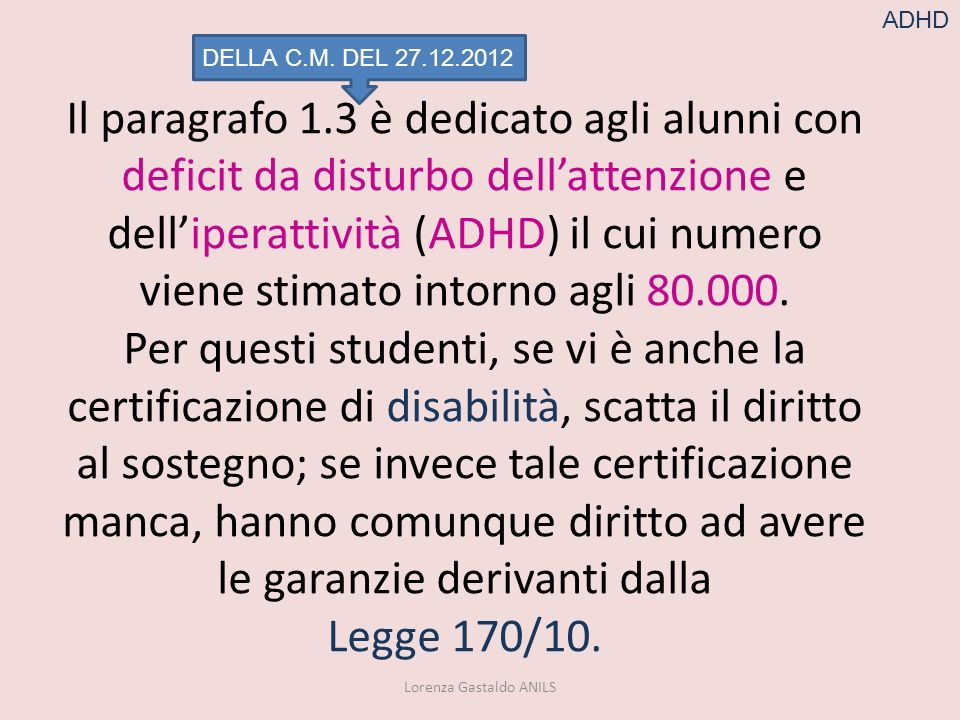 Lorenza Gastaldo ANILS