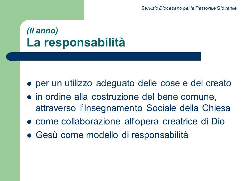 (II anno) La responsabilità